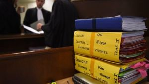 Some 120 patients came together in the case against van Nierop