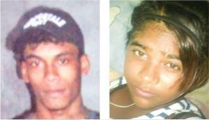 KILLED: Marlon Bess and Hansranie