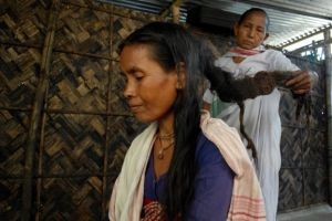 Raneshwari Rabha was thrown out of her village after being branded a witch