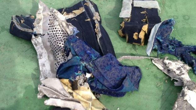 Some of the Items recovered (Photo: Egyptian armed forces)