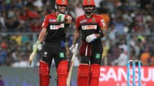 With 1349 runs from 12 matches, Kohli and de Villiers seemed to be unstoppable and are the top-two leading run-getters of the ninth season. (Photo: BCCI)
