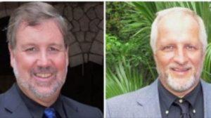 Randy Hentzel (left) and Harold Nichols