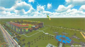 An artistic impression of the completed D'Urban Park Project