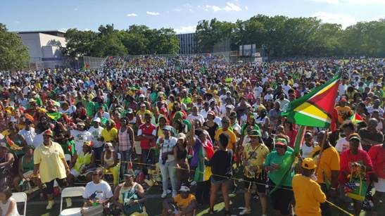 Thousands of Guyanese and persons of other nationalities participated in the 50th Jubilee street parade in Brooklyn, New York.