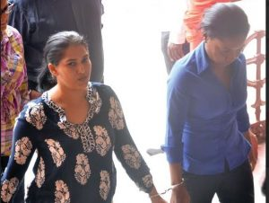 REMANDED: Barry Dataram's ex-wife Shameeza Khan, 34, and Falicia Laundry