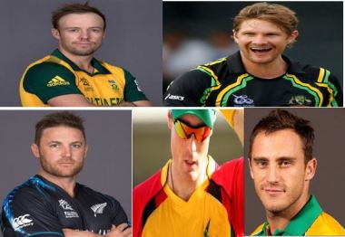 AB Devillers, Shane Watson, Brendon McCullum, Martin Guptil and Faf DuPlessis are among the big international stars for the 2016 CPL tournament