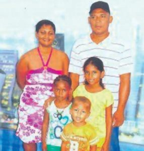 FLASHBACK: John Blanchard, his ex-wife and the three  children he hacked to death