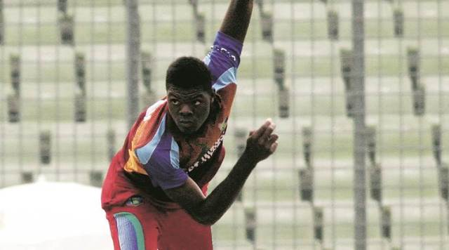 West Indies fast bowler Alzarri Joseph