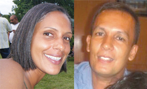 Land Court Judge Nicola Pierre and her spouse, Mohamed Chand