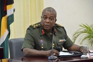 GDF Chief of Staff, Brigadier Mark Phillips