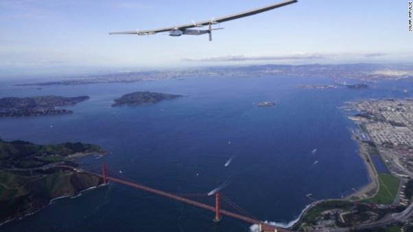 Solar Impulse 2 on a round the world journey (CNN photo)