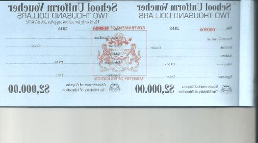 uniform voucher specimen 2016