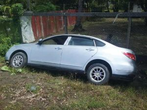 The vehicle which a passenger attempted to carjack