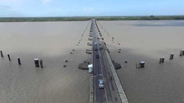 The Demerara Harbour Bridge