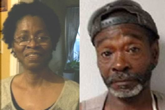 62-YEAR-OLD LENISE FREDERICKS (LEFT) WAS KILLED IN HER HOME, ALLEGEDLY BY 61-YEAR-OLD ROBERT JAMES CROSBY (RIGHT). (Caribbean360.com)