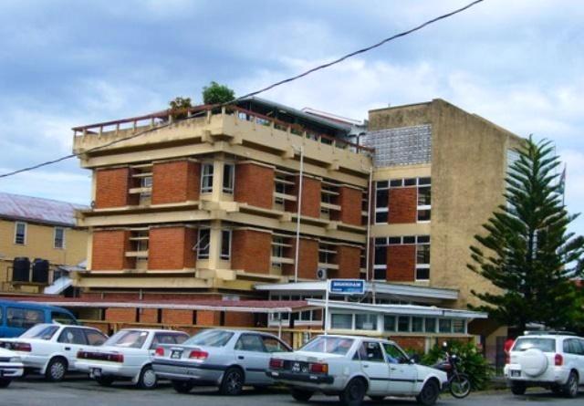 The NIS Head Office in Georgetown