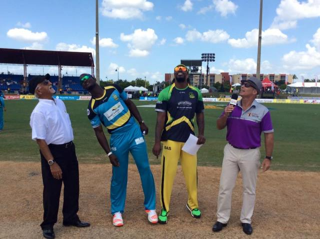 Jamaica Tallawahs have won the coin toss and will bat first (CPL Facebook photo)