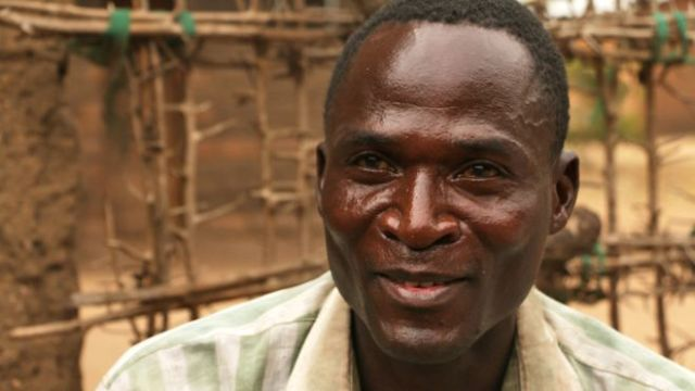Eric Aniva told the BBC that he planned to stop taking part in sexual cleansing practices (BBC photo)