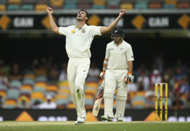 Mitchell Starc is set to resume as Australia's Test spearhead against Sri Lanka after a long injury lay-off (Cricket Australia/Getty Images)