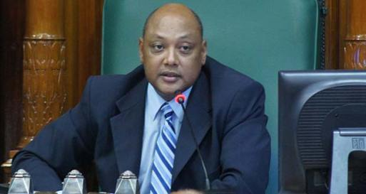 Minister of Natural Resources, Raphael Trotman
