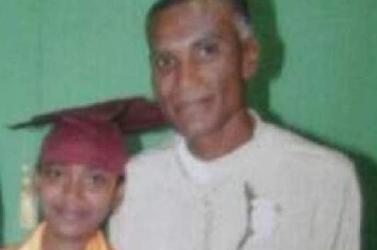 Grim search: Missing Deoraj Harridass and his step daughter Renisha Basdeo. (TT Express photo)