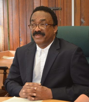 Minister of Legal Affairs and Attorney General, Basil Williams