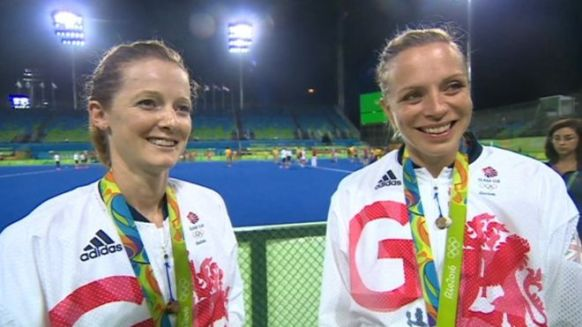 Helen and Kate Richardson-Walsh have nearly 35 years' experience in hockey's top flight between them (BBC photo)