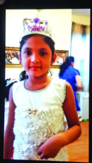Ashdeep Kaur, 9, was found strangled to death Friday (NY Daily photo)
