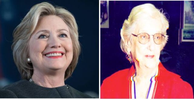 Hillary Clinton and the late Janet Jagan