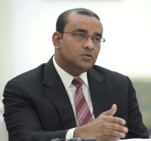 Dr Bharrat Jagdeo