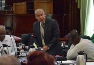 Public Health Minister, Dr George Norton
