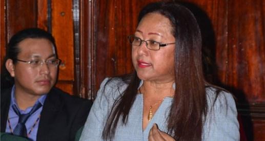 PPP/C Member of Parliament, Pauline Sukhai