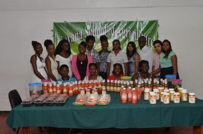 A group of youths who recently graduated from an agro-processing training programme