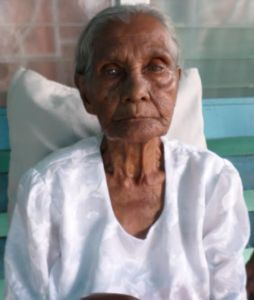 95-year-old Sherry-Ann Mangroo was rescued