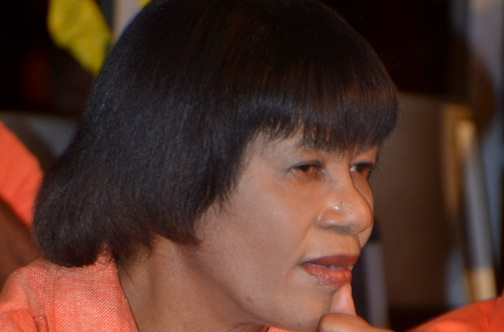Opposition Leader Portia Simpson Miller
