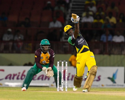 Rovman Powell made 228 runs in 12 innings for Jamaica Tallawahs at the CPL(Photo: CPL/Sportsfile)