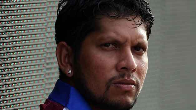 Former West Indies captain Ramnaresh Sarwan