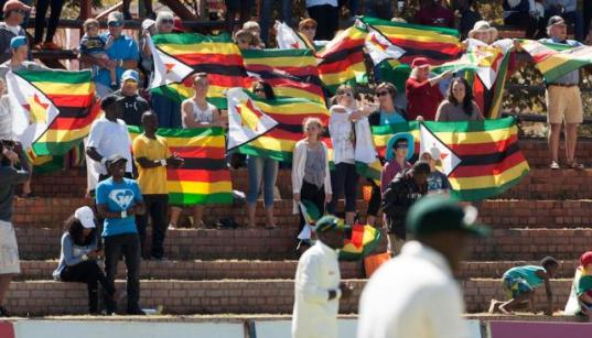 Zimbabwe have played five Tests in the last two years (Photo: AFP)