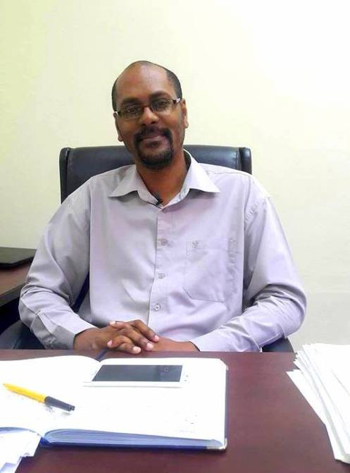 Manager of the Information Systems Department, Guyana Lands and Surveys Commission, Mr. David Cole