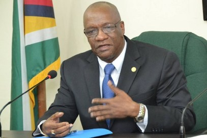 Minister of State Jospeh Harmon
