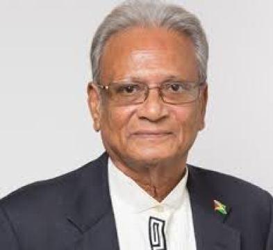 Minister of Education Dr. Rupert Roopnaraine
