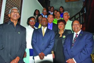 President David Granger along with several members of his Cabinet