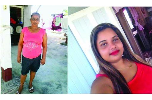 Dead: Madojri Sawh and Diane Sawh