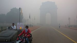 Authorities issued pollution warnings in Delhi ahead of Diwali (AP photo)