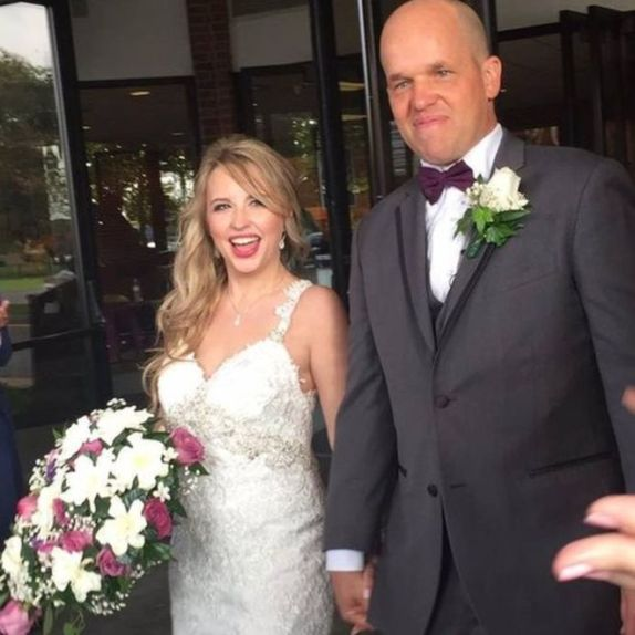 Heather and Chris Dempsey married less than two years after first meeting (Christopher Dempesy photo)