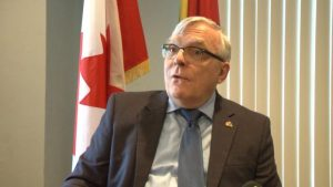 Canadian High Commissioner to Guyana Pierre Giroux