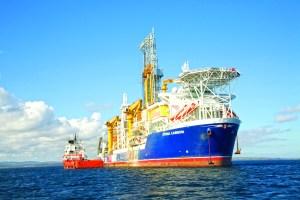 Stena Carron harsh environment drillship