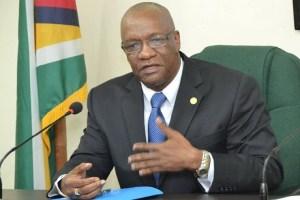 State Minister Joseph Harmon