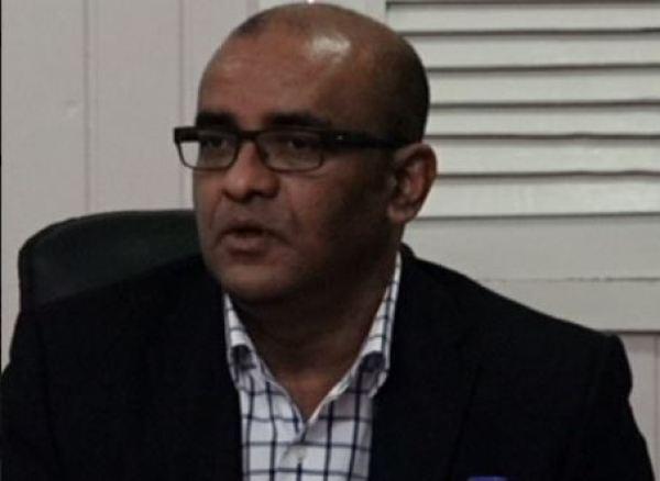 Opposition Leader Dr Bharrat Jagdeo