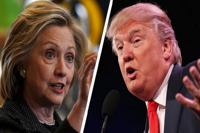 Who will be the next US president? Hillary Clinton or Donald Trump? (Photo credit: Fiscal Times)